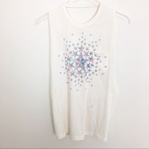NWOT Free People Movement Star Graphic Tank